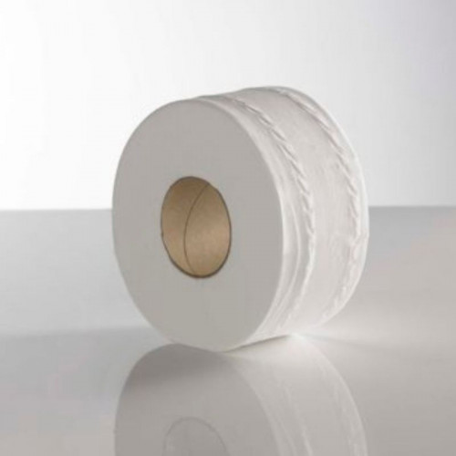 pure mini jumbo 2 ply toilet rolls large core 150 / 76