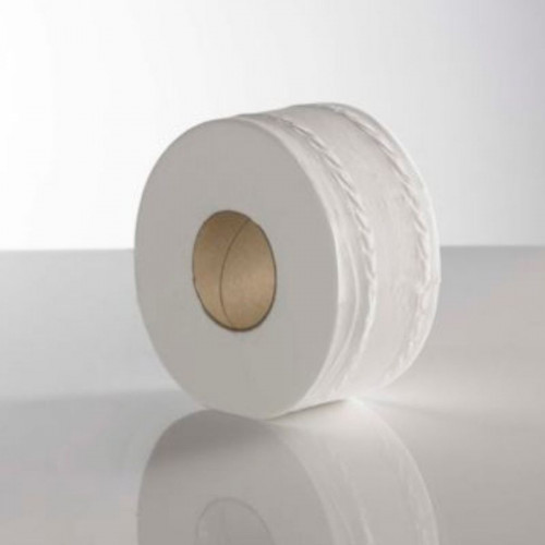 recycled mini jumbo 2 ply toilet rolls standard core 150 / 60
