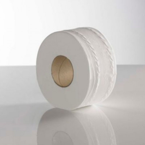 recycled mini jumbo 2 ply toilet rolls large core 150 / 76