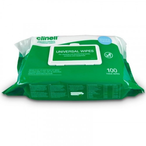 Clinical Anti-Bac Universal Wipes bcw100