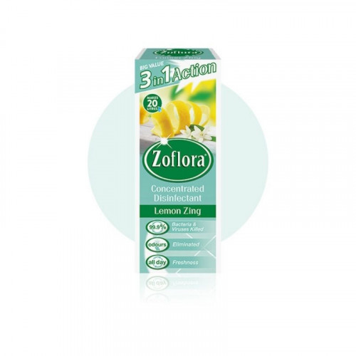 Zoflora Lemon Zing 500ml